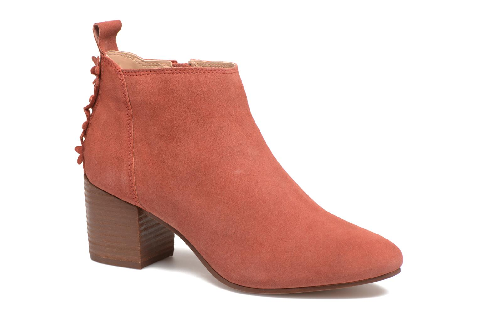 Candy Bootie 652 berry red
