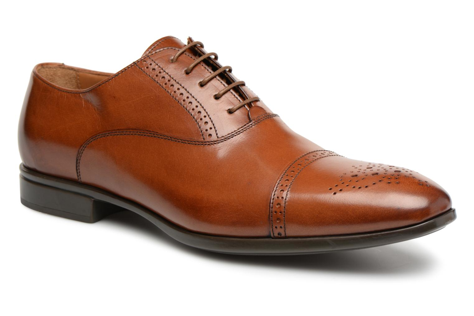 Marques Chaussure luxe homme Doucal's homme OTELLO POLO CHASTAGNE