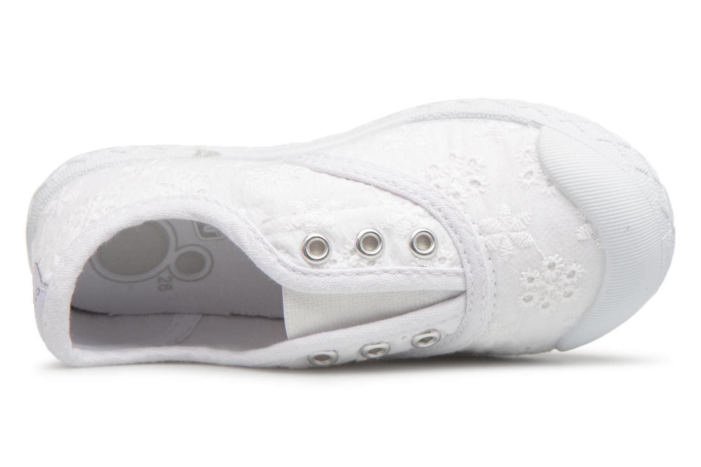 Sneaker Chicco Cardiff weiß ansicht von links