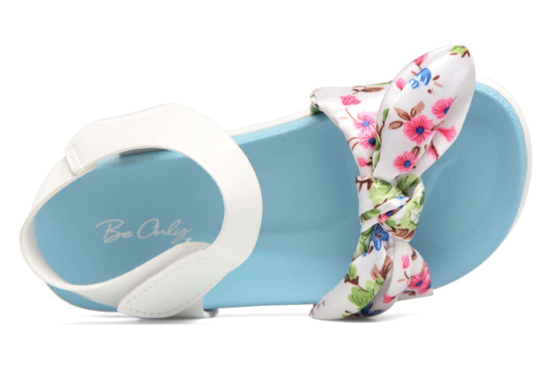 Sandalen Be Only Agathea Blauw links