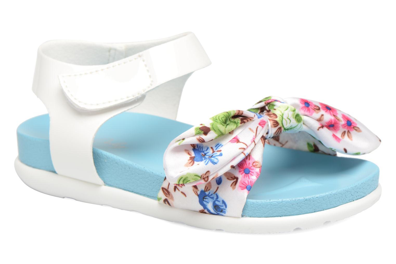Sandalen Be Only Agathea Blauw detail