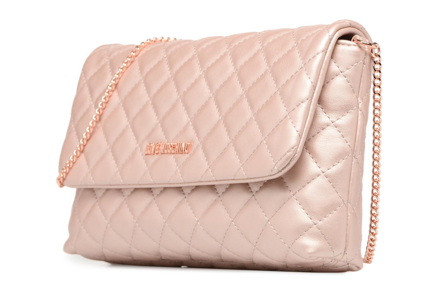 Evening Bag Chaine Quilted 905 COPPER