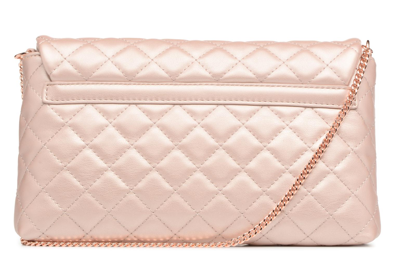 Borse Love Moschino Evening Bag Chaine Quilted Rosa immagine frontale