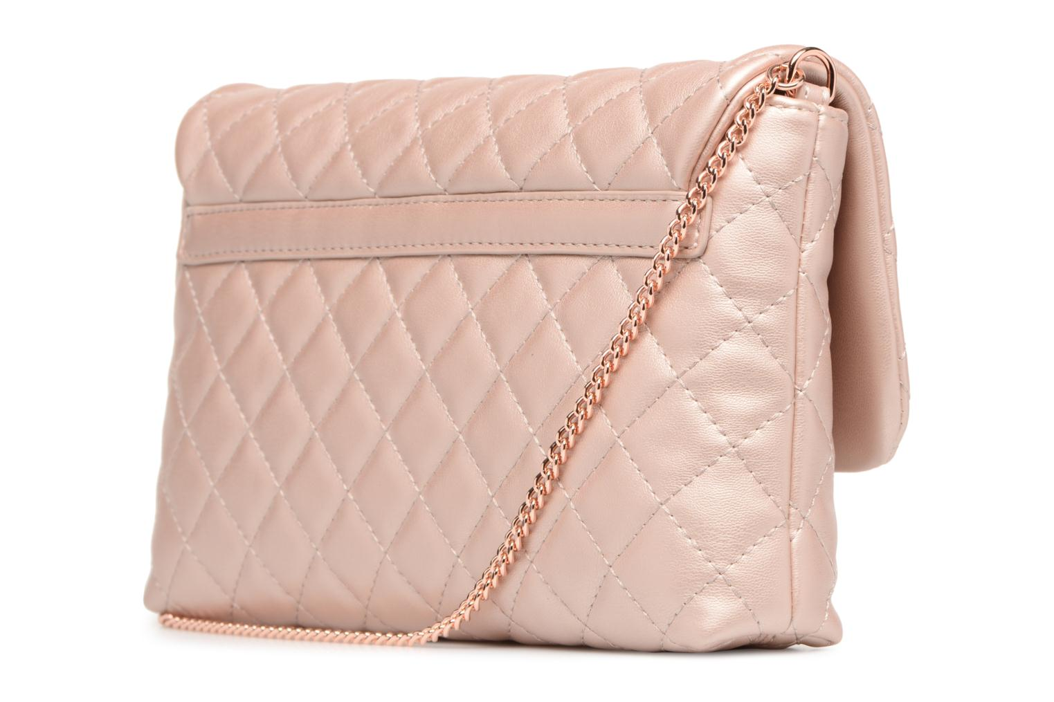 Borse Love Moschino Evening Bag Chaine Quilted Rosa immagine destra