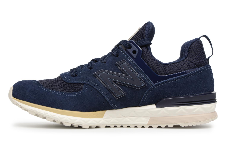 Sneakers New Balance KFL574 Blauw voorkant