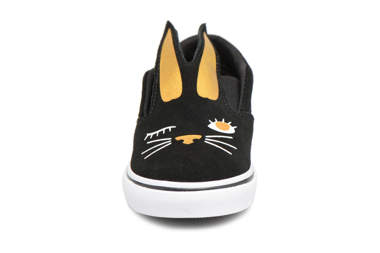 Slip TD Vans Black gold On Bunny a8x15q