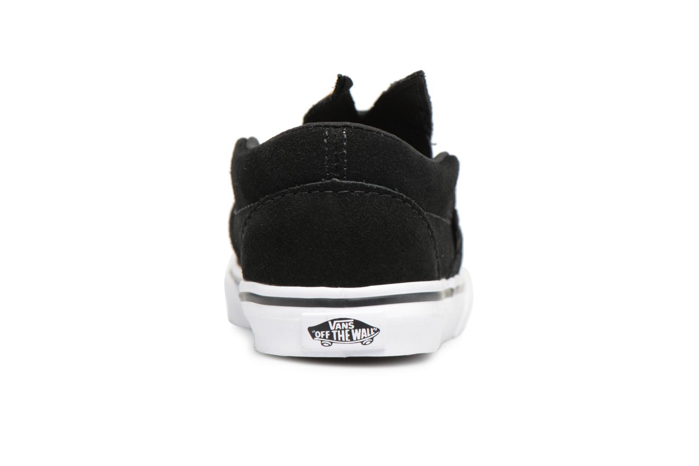Black/gold Vans TD Slip-On Bunny (Noir)