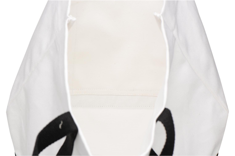 Handtassen Vanessa Bruno Cabas Coton Aartiste Wit achterkant