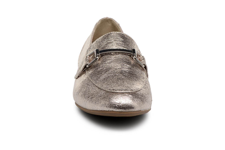 Mocassins Marco Tozzi Naven Or et bronze vue portées chaussures