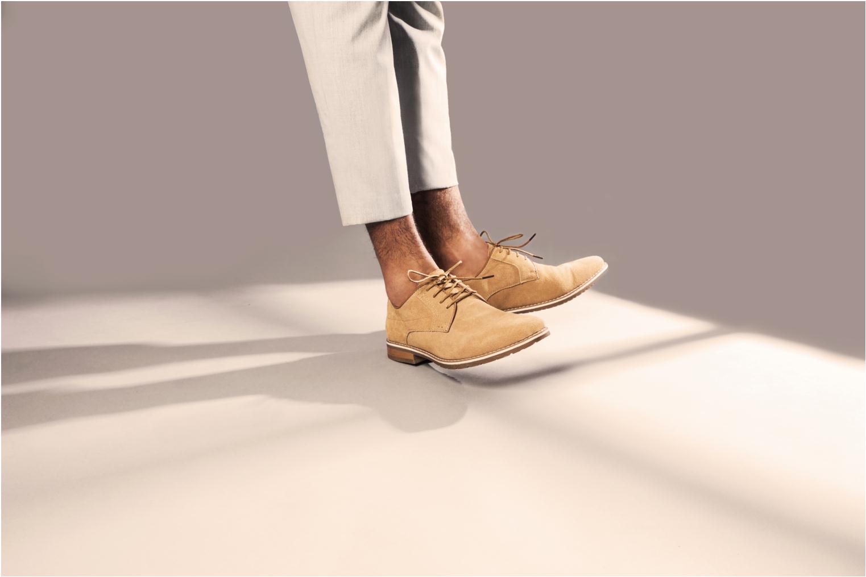 Veterschoenen I Love Shoes KERENS Leather Bruin onder