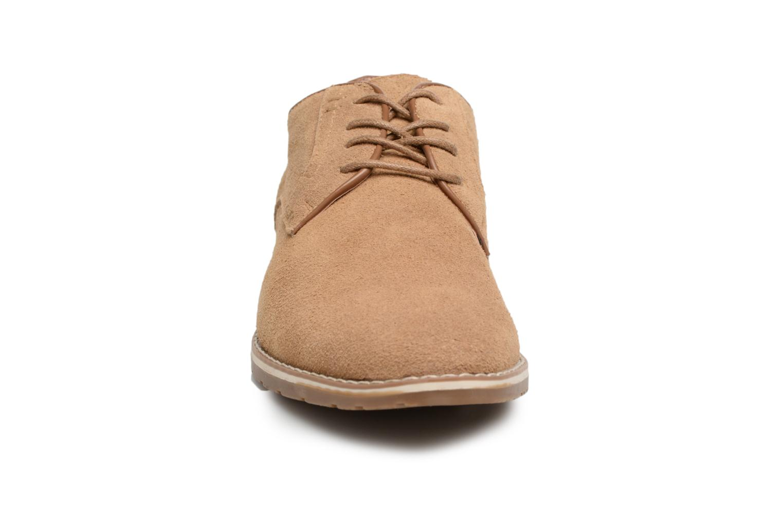 Veterschoenen I Love Shoes KERENS Leather Bruin model