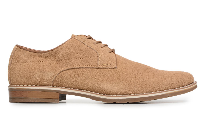 Veterschoenen I Love Shoes KERENS Leather Bruin achterkant