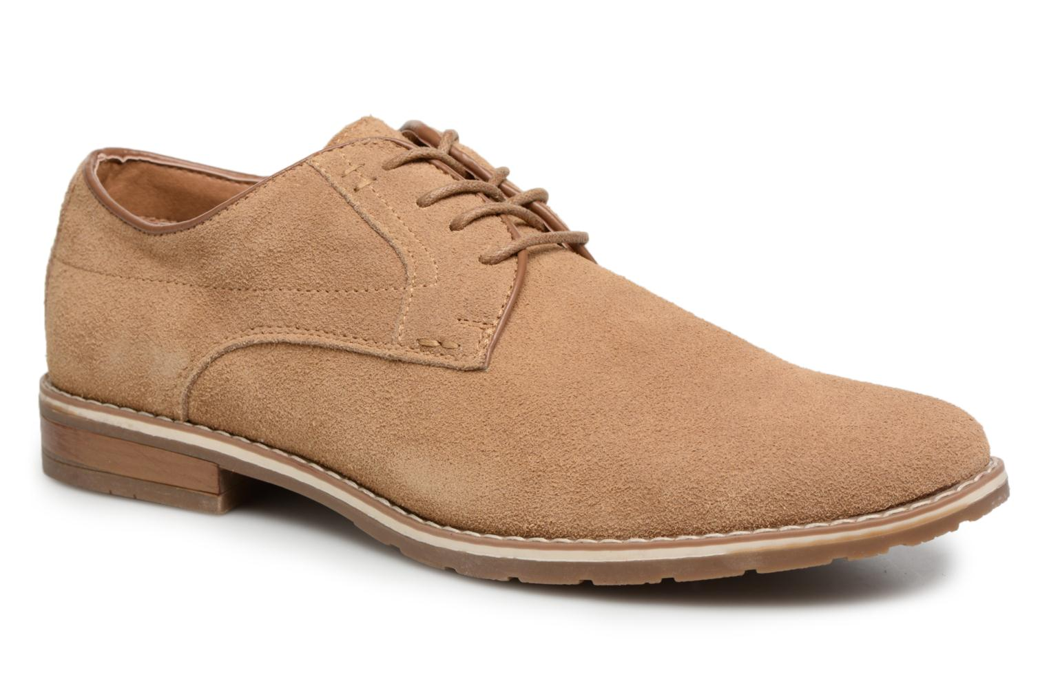 Veterschoenen I Love Shoes KERENS Leather Bruin detail