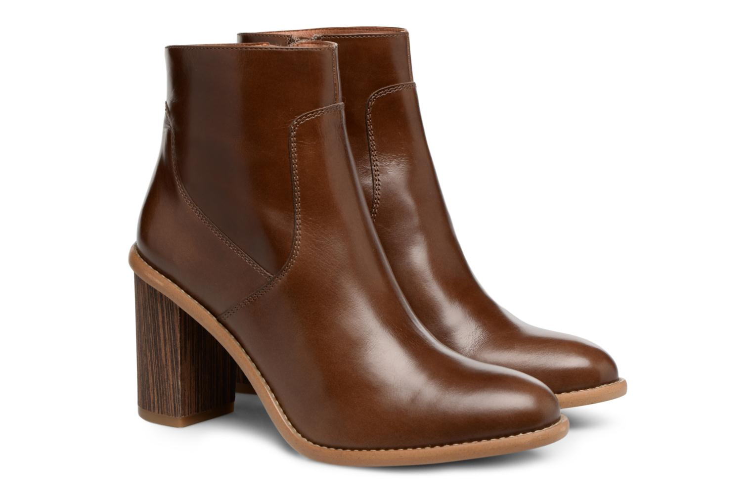 Made by Cuir Lisse Crew SARENZA Carioca 1 Marrin Boots ddvrUx6