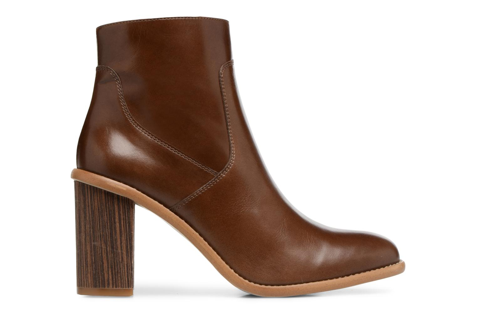 1 Made by Carioca Lisse Marrin Boots SARENZA Cuir Crew 77wXr6