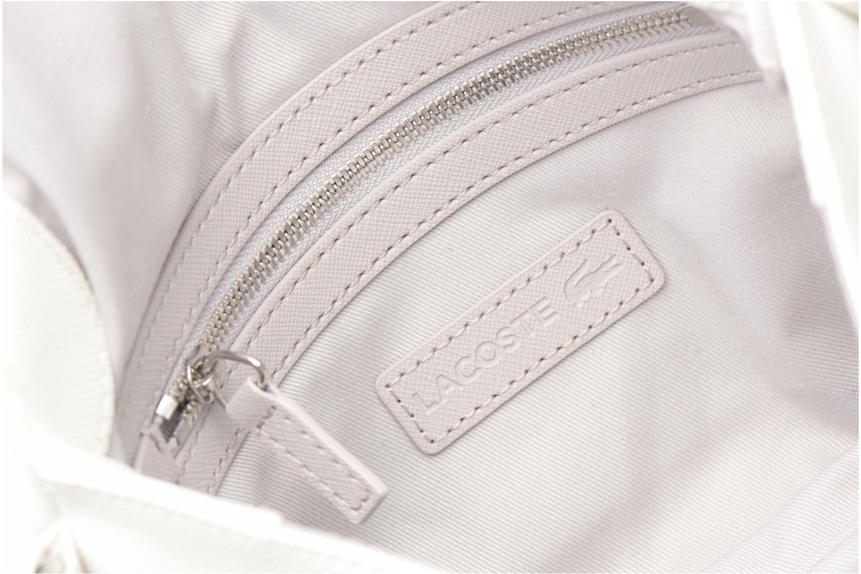 Sacs à main Lacoste DAILY CLASSIC Blanc vue derrière