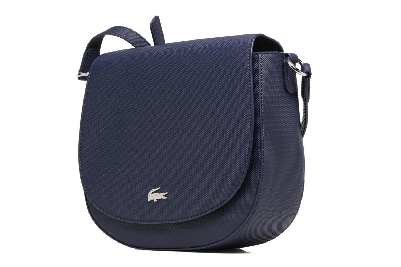 Handtassen Lacoste ROUND CROSSOVER BAG Blauw model