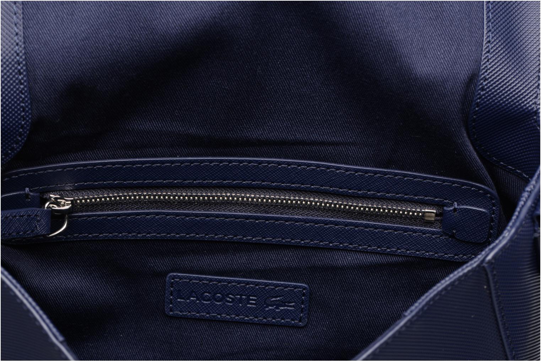 Handtassen Lacoste ROUND CROSSOVER BAG Blauw achterkant