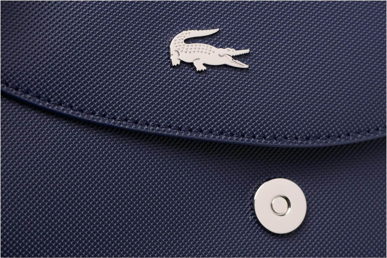 Sacs à main Lacoste ROUND CROSSOVER BAG Bleu vue gauche