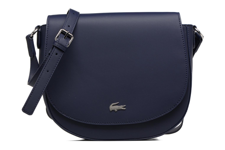 Sacs à main Lacoste ROUND CROSSOVER BAG Bleu vue détail/paire