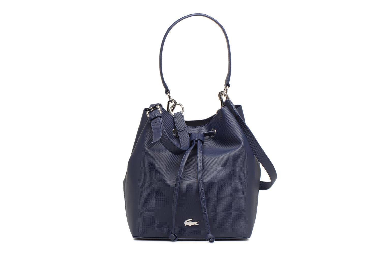 Sacs à main Lacoste BUCKET BAG Bleu vue détail/paire