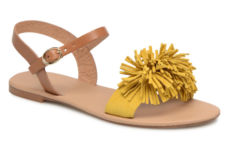 ZapatosGeorgia Rose Dopompon (Amarillo) - Sandalias   zapatos Zapatos de mujer baratos zapatos  de mujer 64d58f