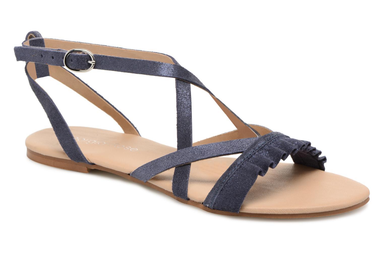 Sandales et nu-pieds Georgia Rose Dovolant Bleu vue détail/paire