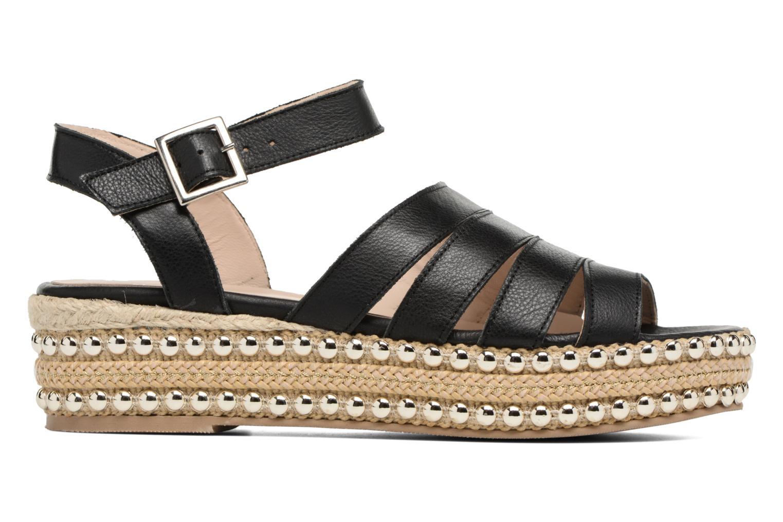Sandalen Anaki NEVADA Zwart achterkant