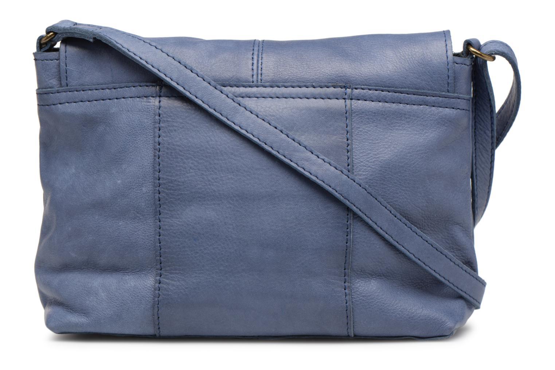 Sacs à main Pieces Imsa Leather Crossbody Bleu vue face