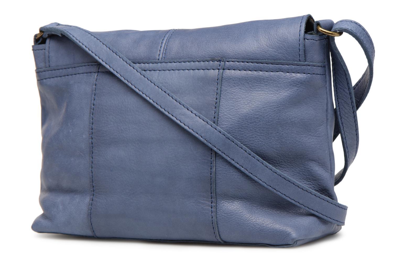 Sacs à main Pieces Imsa Leather Crossbody Bleu vue droite