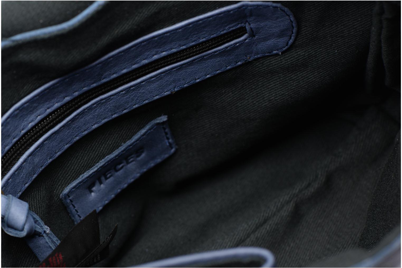Sacs à main Pieces Imsa Leather Crossbody Bleu vue derrière