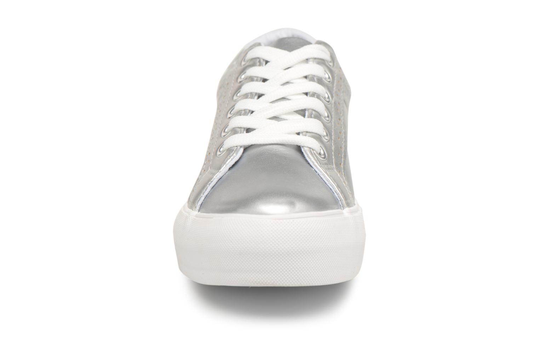 Baskets I Love Shoes Thalinda Argent vue portées chaussures