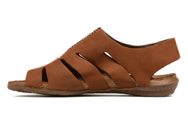 Sandales et nu-pieds El Naturalista Wakataua N5065 Marron vue face