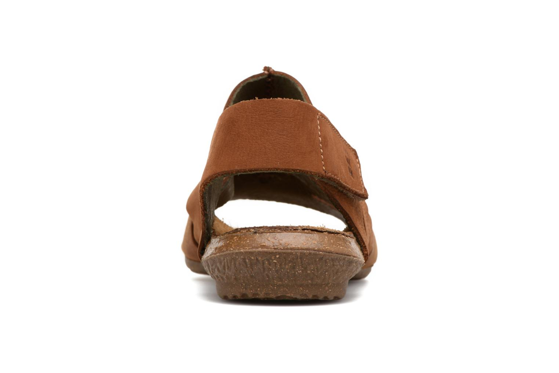 Sandales et nu-pieds El Naturalista Wakataua N5065 Marron vue droite