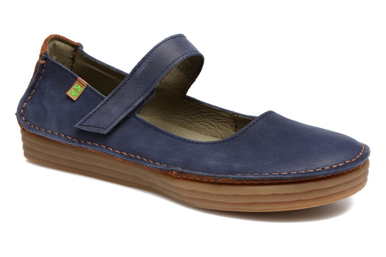 Zapatos promocionales El Naturalista Ricefied N5041 (Azul) - Bailarinas   Venta de liquidación de temporada