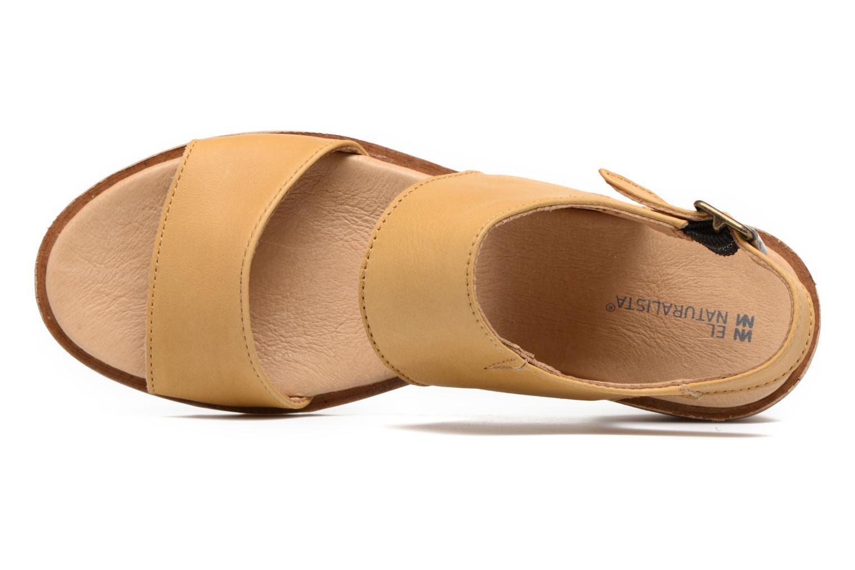 Sandales et nu-pieds El Naturalista Sabal N5010 Jaune vue gauche
