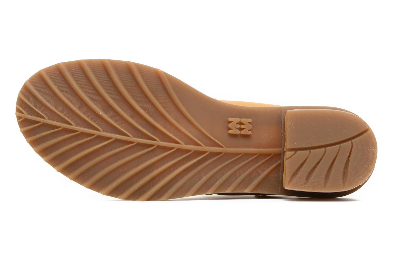 Sandales et nu-pieds El Naturalista Sabal N5010 Jaune vue haut
