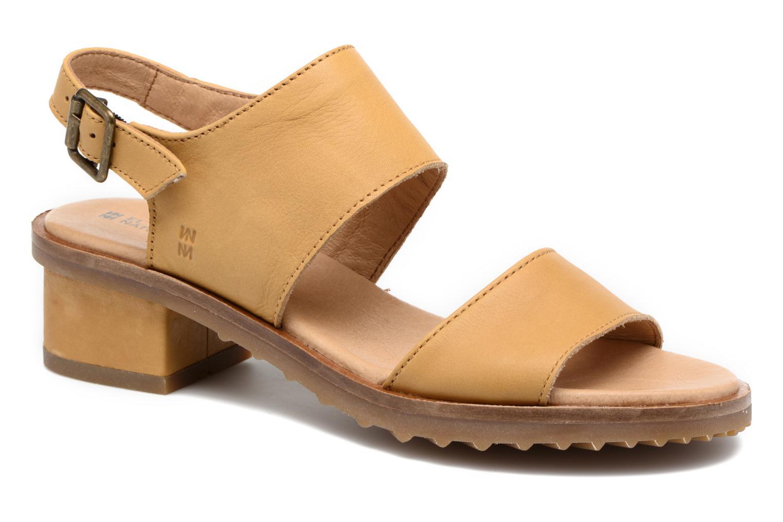 Sandales et nu-pieds El Naturalista Sabal N5010 Jaune vue détail/paire
