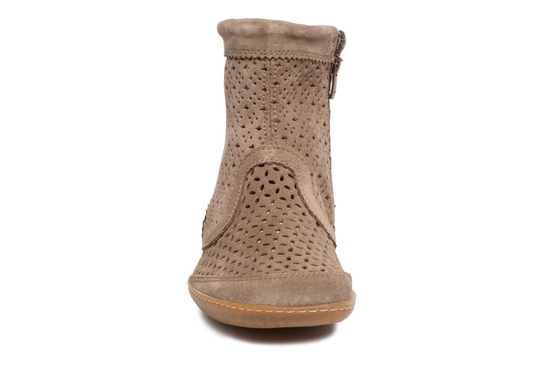 Boots en enkellaarsjes El Naturalista El Viajero N262 Bruin model