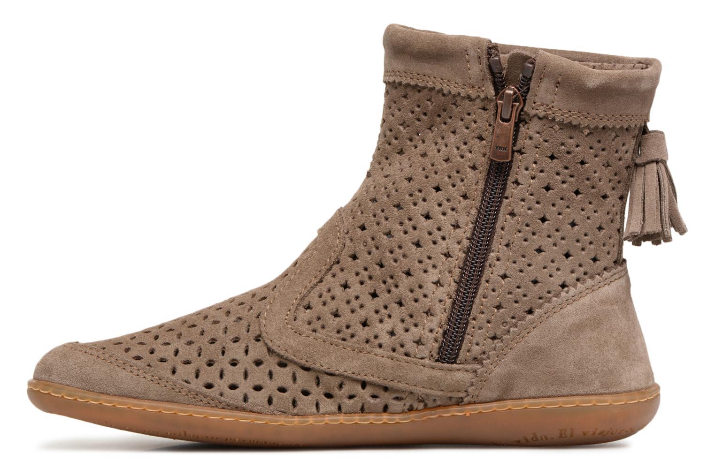 Boots en enkellaarsjes El Naturalista El Viajero N262 Bruin voorkant
