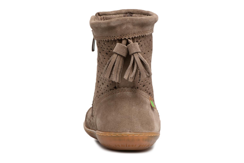 Boots en enkellaarsjes El Naturalista El Viajero N262 Bruin rechts