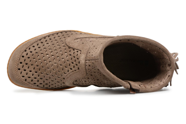 Boots en enkellaarsjes El Naturalista El Viajero N262 Bruin links