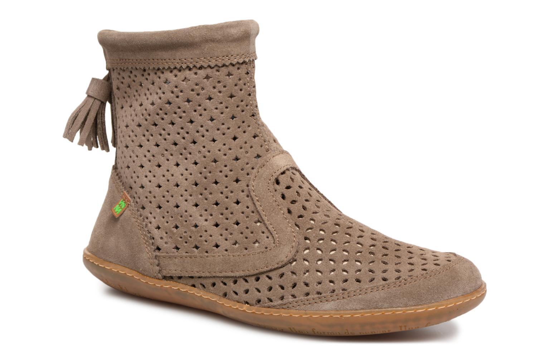 Boots en enkellaarsjes El Naturalista El Viajero N262 Bruin detail