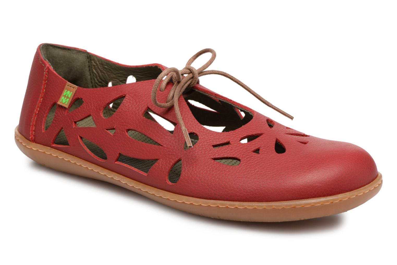 Zapatos promocionales El Naturalista El Viajero N5271 (Rojo) - Zapatos con cordones   Descuento de la marca