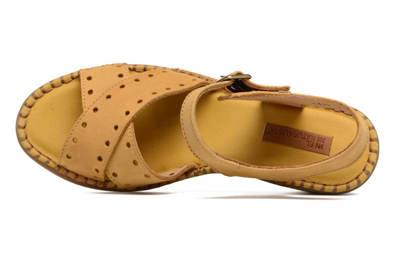 Sandales et nu-pieds El Naturalista Aqua N5325 Jaune vue gauche