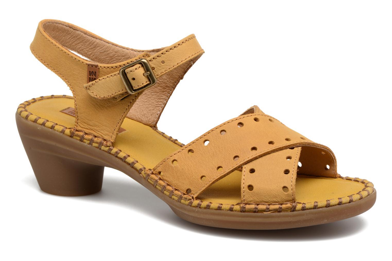 Sandales et nu-pieds El Naturalista Aqua N5325 Jaune vue détail/paire
