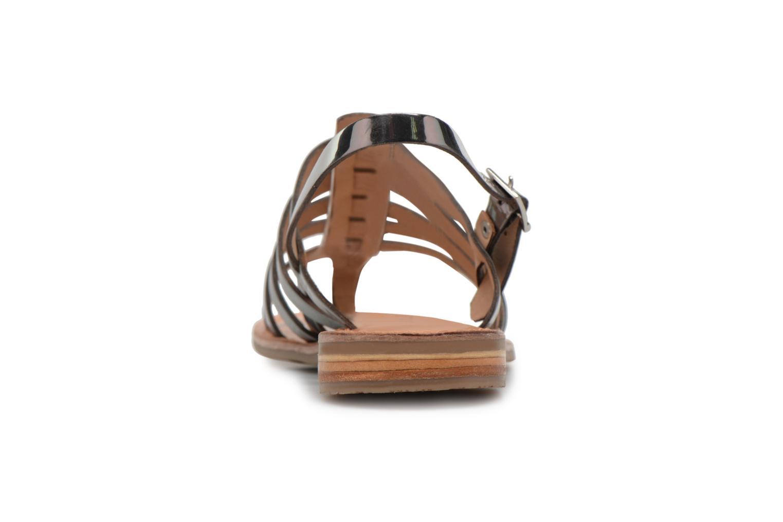 Sandales et nu-pieds Les Tropéziennes par M Belarbi Hemir Argent vue droite