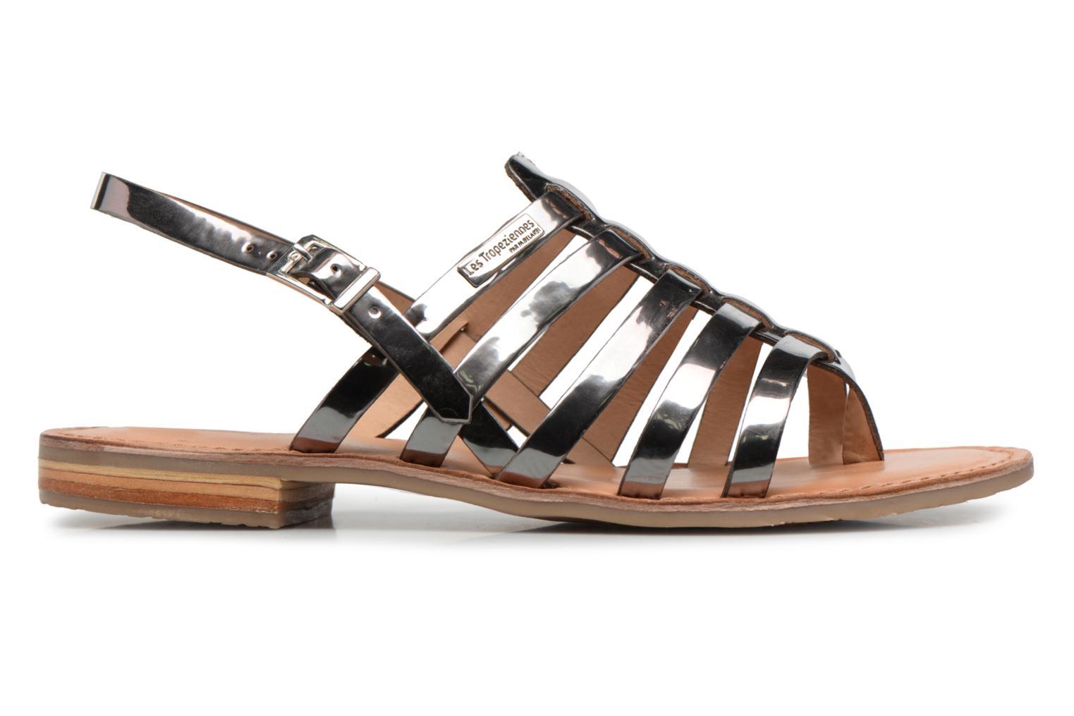 Sandales et nu-pieds Les Tropéziennes par M Belarbi Hemir Argent vue derrière
