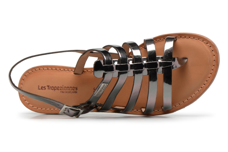 Sandales et nu-pieds Les Tropéziennes par M Belarbi Hemir Argent vue gauche