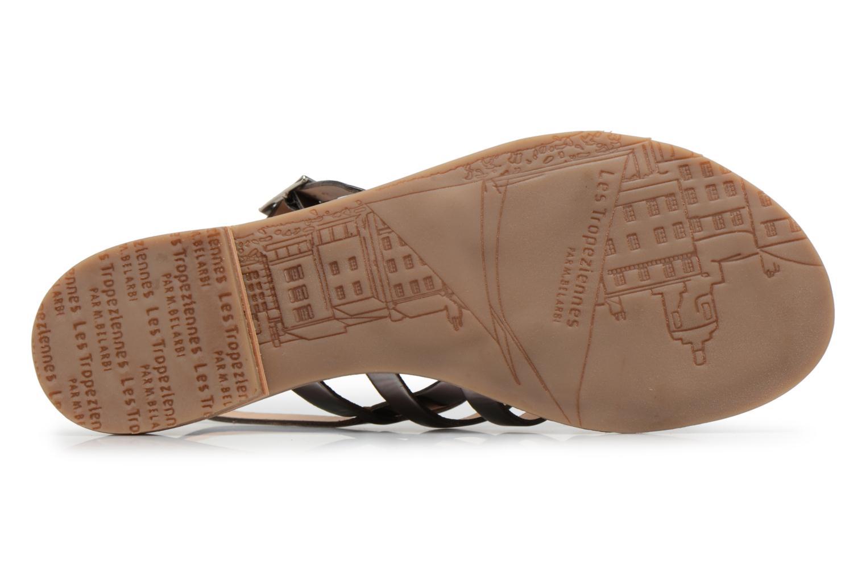 Sandales et nu-pieds Les Tropéziennes par M Belarbi Hemir Argent vue haut